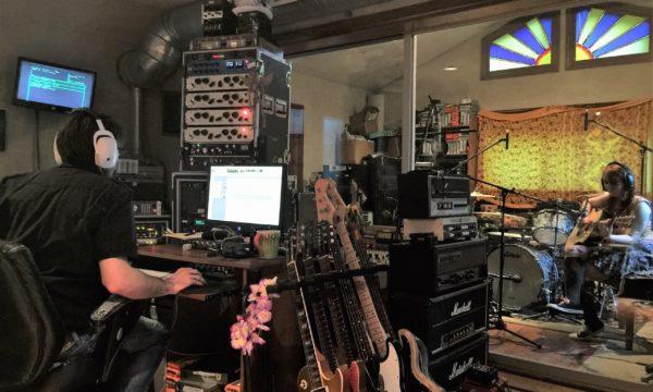 Kaedyn Reording at Spitfire Studio